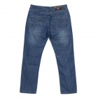 Guaimozai MF054 Causal Man's Mid-High Waist Straight Leg Jeans - Blue (Size-36)