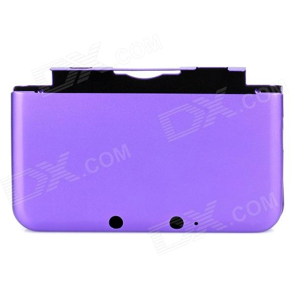 Protective Aluminum Box Case Cover for Nintendo 3DS LL - Purple