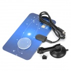 UHF / VHF Digital Indoor TV Antenna for HDTV / STB - Blue + Black