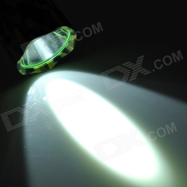New-Q85 Cree XM-L T6 800lm 5-Mode White Light Flashlight - Camouflage Green (1 x 18650)