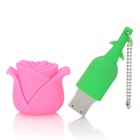 Disco Flash HD HD-0909 Estilo Rosa USB 2.0 - Rosa + Verde (8GB)