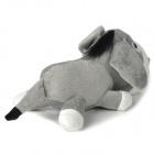 Auto Car Bamboo Charcoal Donkey Doll Toy Odor Absorber - Grey + White + Black