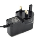 12V 1A Wall Power Adapter for Scanner / Surveillance Camera + More (UK Plug / 5.5 x 2.1mm)
