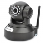 VSTARCAM H6837WI Indoor Wireless IP Network Camera w / 10-LED IR Night Vision / TF / IR-CUT - Black