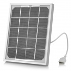 Buy USB Solar Panel Power Battery Charger Cell Phone / MP3 MP4 Camera + - Black Silver