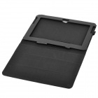 Protective PU Leather Case for Samsung Galaxy Note 10.1 N8000 - Black