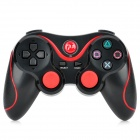 USB Dual-Shock Wireless Controller für die Sony PlayStation 3 PS3 / PS3 Slim - Schwarz + Rot