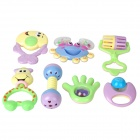 7-in-1 Lovely Baby Shake-Bell-Set - Multicolored