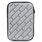 "Protective Padded Inner Bag for All 7"" Tablet PCs - Silver Grey"