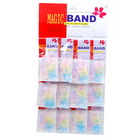 240 Transparent Multicolored TPU Bands (12 Packs of 20)