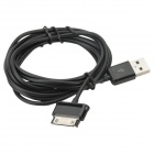 USB macho a macho cable de datos de 30 pines para Samsung Note 10.1 - negro (2M)