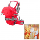 Multi-Function Komfortable Baby Carrier Sling - Red + Grau