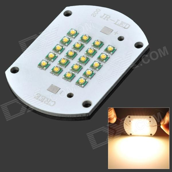 100W 8500LM Warm White Light LED Aluminum Plate Module (DC 30~36V)