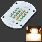 CREE 100W 3000K 8500lm Warm White LED Emitter Aluminum Plate - Silver (DC 30~36V)