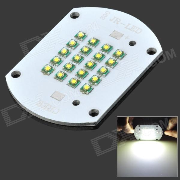 60W 4800LM Cold White Light 20-LED Aluminum Plate Module (DC 30~36V)