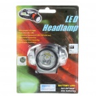 3-Mode LED Headlamp w/ Cree P4-WB (3*AAA)