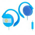 Stylish Ear-Hook Earphone with Microphone (3.5mm Plug)