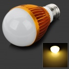 E27 5W 450LM 4000K 5-LED Warm White Light Bulb - Golden (AC 85~265V)