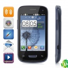 "Mini 9300 Android 2.3 GSM Bar Phone w/ 3.5"" Capacitive Screen, Quad-Band and Wi-Fi - Blue + Black"