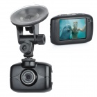 "Wasserdichte 2,0 ""Resistive Touch Screen 1,3 MP Sport Digitalkamera / Car DVR Camcorder - Black"