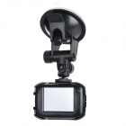 "Waterproof 2.0"" Resistive Touch Screen 1.3 MP Sport Digital Camera / Car DVR Camcorder - Black"