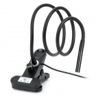 Waterproof Digital USB Snake Scope Inspection Camera w/ 4-LED / Magnetic Clip - Black (140cm)