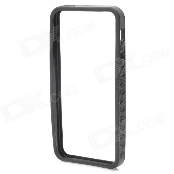 Protective Soft TPU Bumper Frame for Iphone 5 - Black
