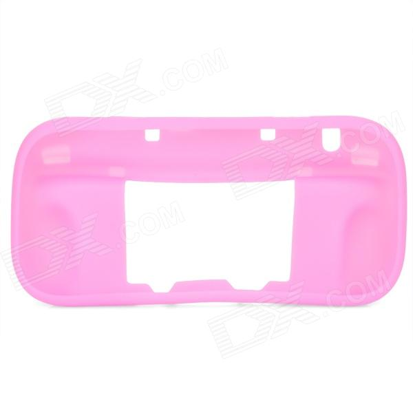 Protective Soft Silicone Case for Wii U - Pink