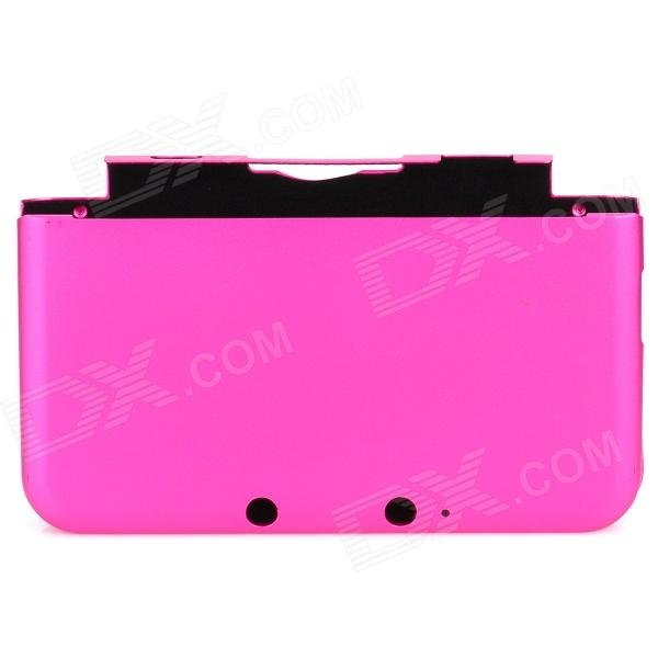 Protective Aluminum Full Protection Case for Nintendo 3DS LL - Deep Pink