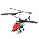 Plastic 3-CH IR Remote Controlled R/C Helicopter w/ Gyro / HD Video Camera / SD Card - Black + Red