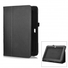 Protective PU Leather Case for Samsung Galaxy Note GT-N8000 - Black