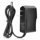 5.5 x 2.1mm Plug Universal Adapter Charger - Black (2-Flat-Pin Plug / AC 100~240V / 100cm-Cable)