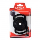 Universal 40. 5 mm de la lente 62mm 49mm Cap Buckle Holder para SLR Camera - Negro