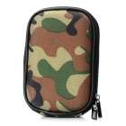 Portable Nylon Protective Bag for Sony T33 - Camouflage Green