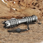 New-002 Cree XR-E Q5 250lm 3-Mode White Light Flashlight - Grey (1 x 18650)