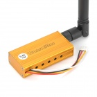 1W 5,8 GHz Wireless Transmitter Receiver Kit - Silber + Gelb