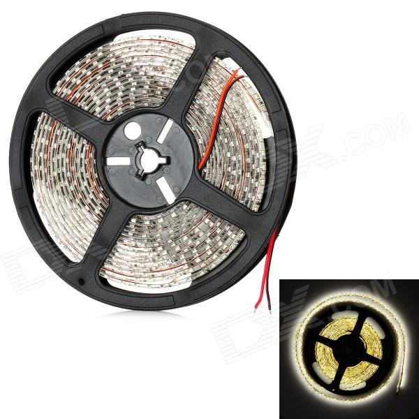 48W 2400LM Warm White 600*3528 SMD LED Decoration Light Strip (12V/5m)