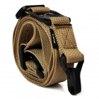 MAGPUL Multifunction Adjustable Gun Sling Carrying Hook Belt - Yellowish Brown