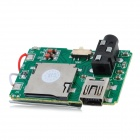 MP3 Player Module w / Micro SD Card Slot / Mini USB / 3,5 mm Klinke