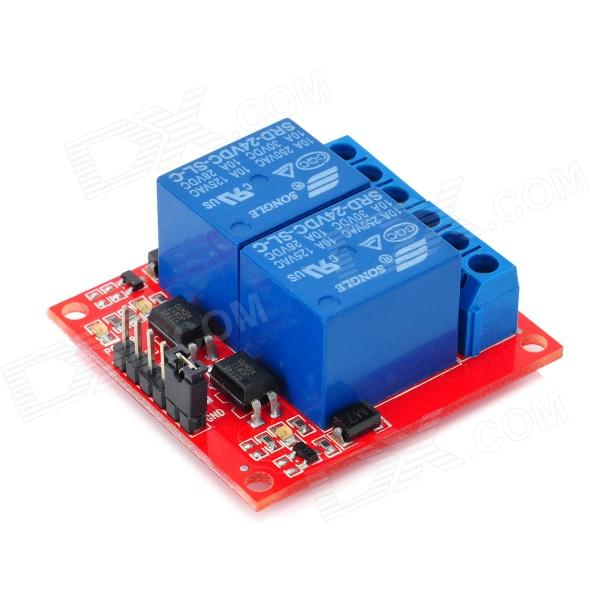 Channel v relay module for arduino works with