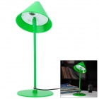 UY002 USB 6000K 90 ~ 100lm 1-LED White Light Table Lamp - Green