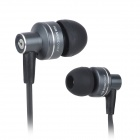 BIDENUO G-350 In-Ear Earphone w/ Microphone - Grey (3.5mm Plug / 110cm)