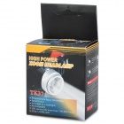 New-933 160lm 2-Mode White Zooming Headlamp - Black + Silver (3*AAA)