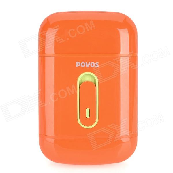 Genuine POVOS PS3102 Electric Single-Blade-Head Reciprocating Shaver Razor - Orange (2 x AA)