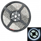 Waterproof 48W 2400lm 600-SMD 3258 LED White Flexible Light Strip - White (DC 12V / 5m)