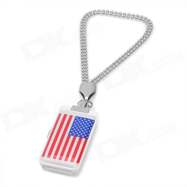 Flag of the United States Pattern USB 2.0 Flash Drive - White + Red + Blue (2GB) от DX.com INT