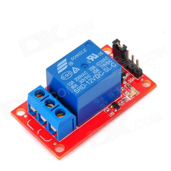 1 Channel 12V Relay Module for Arduino (Works with Official Arduino Boards) 4 channel 12v low level trigger relay module for arduino works with official arduino boards