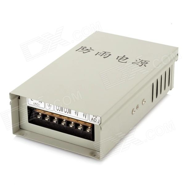 Water Resistant 12V 6A LED Power Supply Adapter - Silver (AC 220V)