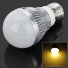 E27 3W 4000K 270lm 6-LED Warm White Light Bulb - Silver (AC 85 ~ 265V)