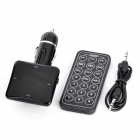 "1.4"" LCD Wireless Car MP3 Player FM Transmitter w/ Remote Control / SD Card Slot (DC 12~24)"